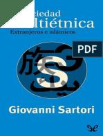 Sartori, Giovanni - La Sociedad Multietnica. Extranjeros e Islamicos [20606] (r1.0)