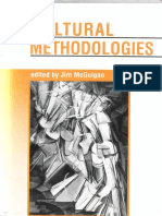 Jim Mcguigan, Cultural Methodologies