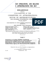 HOUSE HEARING, 114TH CONGRESS - STATE, FOREIGN OPERATIONS, AND RELATED PROGRAMS APPROPRIATIONS FOR 2017