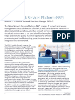 Nokia NSP Module NFM-P R17 Data Sheet En