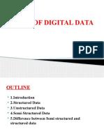 1 - Chap 3 - Types of Digital Data