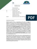 Informe Casa Sr. Mario Matias