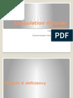 Lec. 16 - Coagulation Disorder