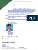 QC Inspector (Offshore Pipeline Installation) Jobs in Propel Consult in UAE - United Arab Emirates - Naukrigulf
