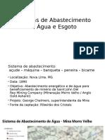 Sistema de Abastecimento de água - Bicame/Peneira/Nova Lima