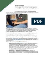 Efectos Del Sedentarismo en La Salud