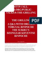 Orgyen Tobgyal Rinpoche on DJKRinpoche