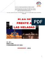 Plan de Contingencia Bajas Temperaturas 2016