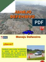 Defensive Driving ESPAÑOL