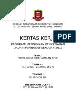 Kertas Kerja Program Ppda 2017