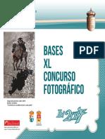 Bases Concurso Fotografía 2017