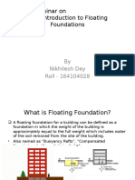 An Introduction of Floating Foundations