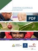 Impact Investing Australia 2016 Investor Report