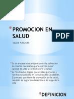 Promocion en Salud