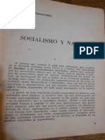 Socialismo y Nación