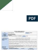 Plan de Unidad Química 2BGU Año 2017-2018