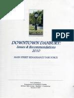 Danbury Main St. Renaissance Task Force Report