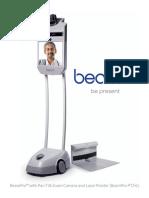 Suitable Technologies BeamPro PT & PTZ+L Brochure