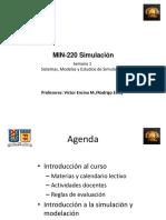 1. MIN220 - Sistemas, Modelos y Estudios de Simulación