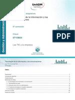 1. Las TIC y la empresa.pdf
