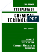 Encyclopedia of Chemical Technology [Vol 07]