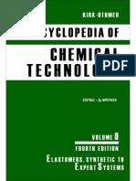 Encyclopedia of Chemical Technology [Vol 09]