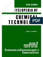 Encyclopedia of Chemical Technology [Vol 06]