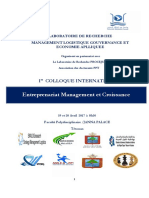 Programme 3 Colloque Entreprenariat