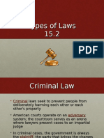 15.2 Types of Laws (1)