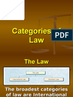 2.2 Categorizing Law