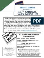 2017 wax museum