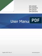 Samsung Galaxy S8 Sm-g95x Nougat User Manual