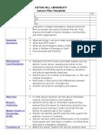 lesson plan template four social studies