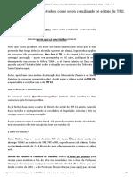 Blog Do IG @ConcursandanoTRT_ Sobre Minha Rotina de Estudo e Como Estou Conciliando Os Editais de TRE e TRT