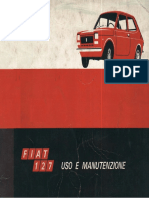 Fiat 127 manuale officina