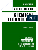 Encyclopedia of Chemical Technology [Vol 12]