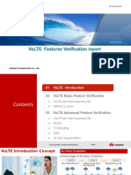 VoLTE Feature Verification Report v2.0 (PPT)