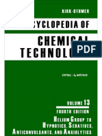 Encyclopedia of Chemical Technology [Vol 13]