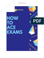How to Ace Exams