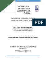 Investigación Cromatografía