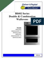 Panasonic Microwave Oven BI602 Series Schematic