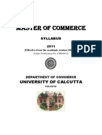 MCom-Syllabus