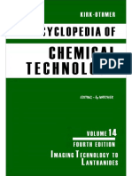 Encyclopedia of Chemical Technology [Vol 14]
