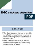 Imc Traning Solution