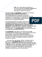 Tecnicas y Herramientas de La PNL