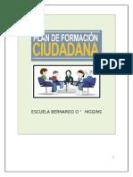 Plan de Formacion Ciudadana Esc. Bernardo o Higgins