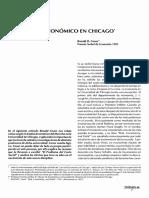 Obligaciones -Analisis Economico en Chicago