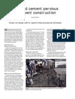 Concrete Construction Article PDF- Portland Cement Pervious Pavement Construction