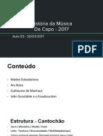 HM - Da capo - Aula 03 - 30-03-17