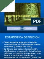 1.- Bioestadística